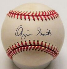 Cardinals OZZIE SMITH Signed NL Baseball AUTO - Hall of Famer - JSA!!