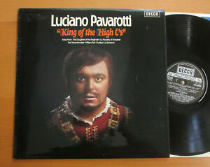 SXL 6668 Luciano Pavarotti SIGNED AUTOGRAPHED King Of The High C's Decca LP