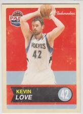 2011-12 Panini Past & Present #48 Kevin Love Minnesota Timberwolves