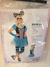 Hipster Alice Tween Costume $44.99 Jr. S/M P/M (10-12) New