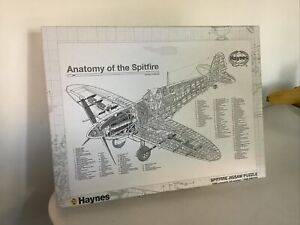 HAYNES ANATOMY OF THE SPITFIRE (1000 PIECE) PUZZLE New With Poster