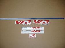 VFR 400K 1991 decals stickers graphics set kit labels 1989 1990 pegatinas logo