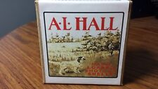 Empty Reproduction Of Vintage A.L. Hall Shotgun Shell Box Ammo w/ Pointer Dog