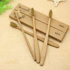 1PC Eco-friendly Bamboo Toothbrush Soft Bristles Adult Oral Care Bamboo Handle