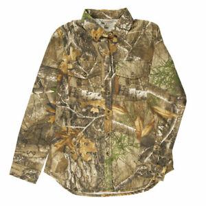 Hunter's Choice Women's Camo Button-Up Shirt Mossy Oak