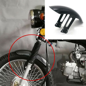 Motorcycle Retro Front Fender Metal Feet before Mud Fenders For Honda CG125