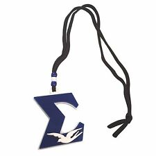 MED-A Phi Beta Sigma Acrylic Medallion Necklace