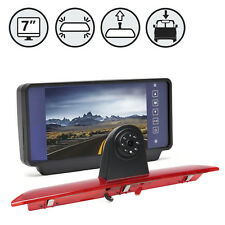 "Backup Camera for 2015- Ford Transit Cargo Vans With 7"" TFT LCD Clip On Display"