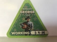George Strait collectible concert tour backstage pass local crew New unpeeled