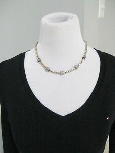 Brighton Meridian Necklace NWOT Gold & Black RARE
