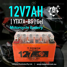 12V 7AH YTX7A-BS Gel Motorcycle Battery Dirt Bike ATV Quad Scooter Gokart Mower