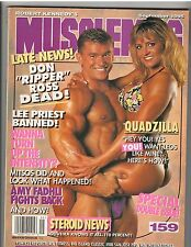MuscleMag Bodybuilding Magazine/Laurie Donnelly/Lee Priest/Don Ross 9-95 #159