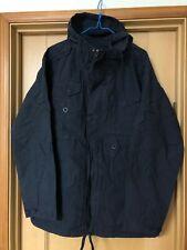 pretty green parka white label smock anorak jacket Liam Gallagher navy