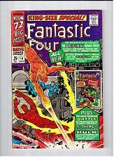 Marvel FANTASTIC FOUR KING-SIZE SPECIAL #4 1964 VF Vintage Comic