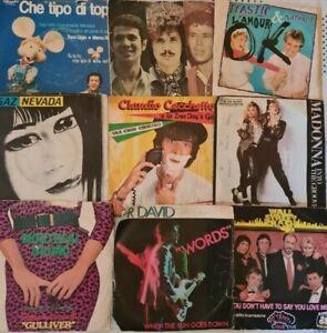 Lotto di 49 dischi vinile 45 giri(leggere descrizione)