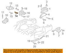 GM OEM Engine Motor Transmission-Mount Bracket Bolt 11589280