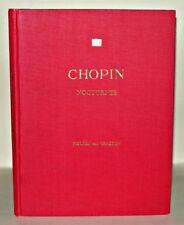 Chopin Nocturnes - Thomas P. Fielden & Harold Craxton, HB, Royal School of Music