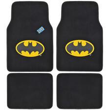 Batman Car Floor Mats Carpet 4 Pieces Front Rear Full Set Original Batman Design