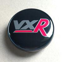 4x 60mm VXR Schwarz Rot Nabendeckel Felgendeckel für Vauxhall