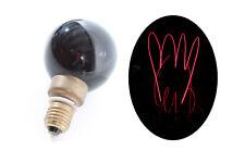 alte Glühbirne Glühlampe E27 Kohlefaden Effektlicht original