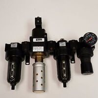 Parker Pneumatic Valve 07S3MDB1, Filters 07F38BC1, 12F38EC1, Regulator 07R318AC1
