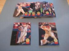 1993 Leaf Houston Astros Team Set With Update 18 Cards
