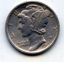 1919-p Mercury dime  (SEE PROMO)