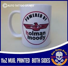 HOLMAN MOODY TEA COFFEE MUG CUP WORKSHOP GARAGE OFFICE MAKES FOR A COOL GIFT