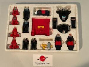 1983 Diakron Multi Force Diaclone 14 Part Robot 98% Complete w/ Styrofoam Insert