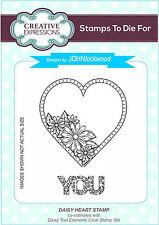 Creative Expressions Daisy CUORE Pre Taglio TIMBRO John Lockwood ums702 *