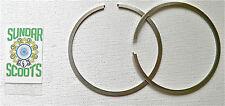 175cc 62.2 mm OVERSIZE PISTON anneaux. 2 x 1.5mm mm pour lambretta SCOOTS