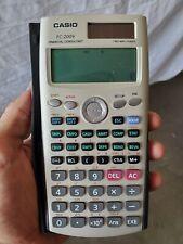 Casio FC-200V Financial Calculator TESTED FREE SHIPPING Finance