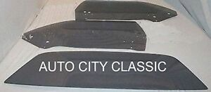 Cuda Glass Plymouth 2dr Hardtop 1970 1971 1972 1973 1974 Door Back Grey Set