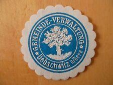 (13792) Siegelmarke - Gemeindeverwaltung Debschwitz b. Gera
