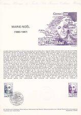 Document philatélique 07-78 1er jour 1978 Marie Noël Marie Rouget