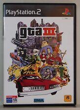GRAND THEFT AUTO III - GTA III - PLAYSTATION 2 - PAL ESPAÑA