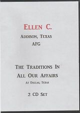 The Alanon Traditions in All Our Affairs, Ellen C. 2 CD set from 2004