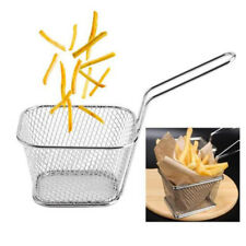 Kitchen Metal Basket Mini Fry Baskets Fryer Cooking French Fries Basket HOT