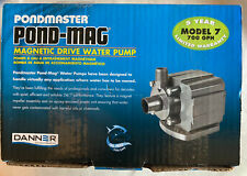 Danner Pondmaster Pond-Mag Submersible Mag Drive Water Pump, 700 GPH Model 7
