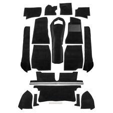 MGB Carpet set RHD Black Nylon Premium grade 1968-1980 NEW part number 244-321