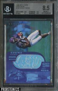 1998 SPx Finite Spectrum #239 Randy Moss Vikings RC Rookie /325 BGS 8.5
