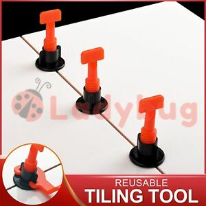 Tile Leveling System Clips Levelling Spacer Tiling Tool Floor Wall Wrench