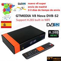 Receptor de TV Nova GTMEDIA V8 Set top box DVB-S2 SCART AVS+ Wifi incorporado