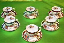 RARO SERVIZIO THE' CAFFE' 12P ROYAL ALBERT IMPERIAL FRUIT SERIES ENGLAND (364)