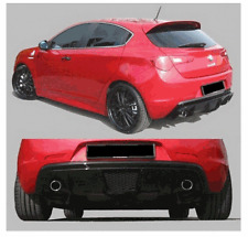 Heckdiffusor Heckansatz Diffusor DUPLEX für Alfa Romeo Giulietta RS525