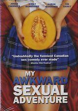 NEW DVD //  MY AWKWARD SEXUAL ADVENTURE //Jonas Chernick, Emily Hampshire, Sarah