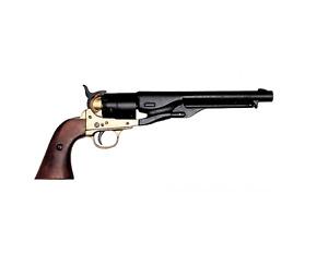 Ref:P1007L Revolver War Civil USA 1860 Man/Woman