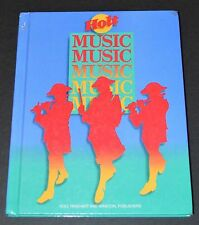 Music Textbook Hardcover Level 5 Holt, Rinehart and Winston Elementary
