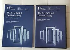 Great Courses -Art of Critical Decision Making, 4 Dvd s,Michael Roberto teaching