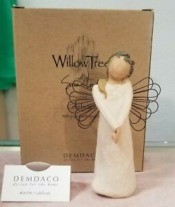 Willow Tree Angel Of Celebration (Celebrate) New In Box With Display Card WT2